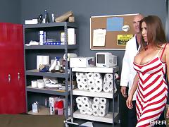 Doctor Adventures: Stuffing her Prescription and Pussy porn video