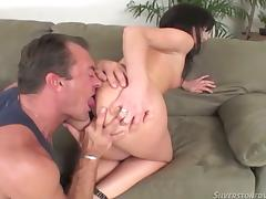 This Cute Complain Gives a Smashing Handjob, Blowjob and More