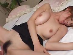 Petite, Bedroom, Brunette, Couple, Hairy, Japanese