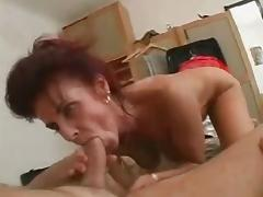 Mom Bathes Then Fucks Young Man