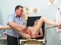 Bella Karina is lying in her lovely med chair