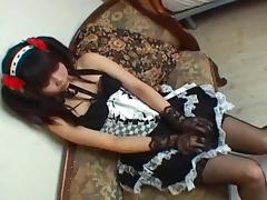 Cosplay Porn: Japanese Maid Cosplay Sex Cosmate 11 Ruri Houshou part 2