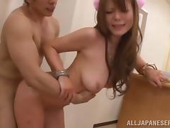 Helpful Japanese nurse fucks a patient at her work place
