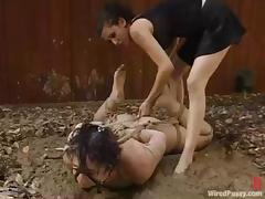 Dylan Ryan gets tormented near a shed and enjoys it a lot