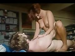 Gorgeous Woman In Uniform From 70's porn video