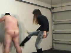 Vixy Angry young Princess Whipping Busting and Riding