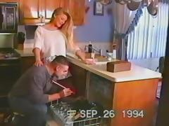 Vintage Mature, Couple, Fucking, Hardcore, Horny, Housewife