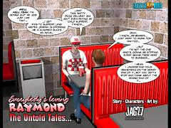 3D Comic: Raymond. The Untold Tales. Episode 3