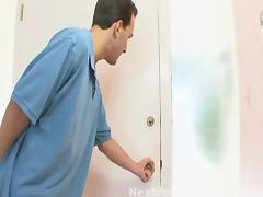 Next Door Mommies: Big breasted mature santa slut fucked