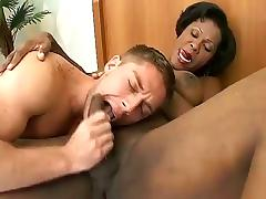 Busty Black Shemale Nailed White Dudes Tight Asshole