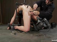 AnnaBelle Lee gets tortured and toyed in bondage video