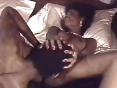 Vintage porn with sexy black couple