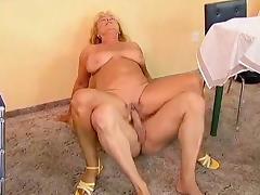 Horny Granny Fucked