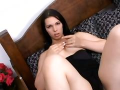 Cute Shemale Gets Her Sexy Butt Destroyed By Horny Prick
