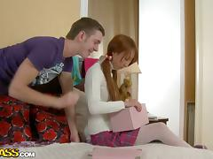 Redhead Schoolgirl is Such an Amazing Fuck Trophy!