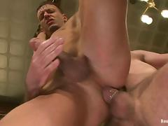Josh West sucks big dick and fucks Adan Knox in the ass