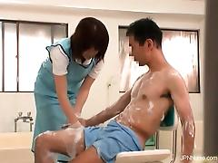 Gorgeous nurses get horny when sick part5