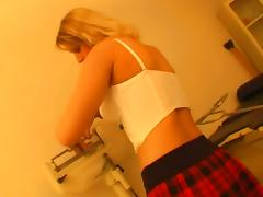 Naughty Blonde Nurse Loves To Swallow The Warm Load