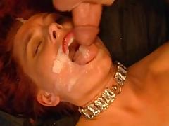 Milf redhead Mascha is fucking in doggy style