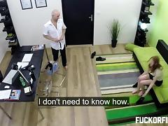 Office, Anal, Assfucking, Blowjob, Couple, Creampie