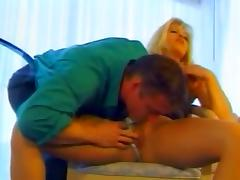Attractive Mature Blonde Gets Her Pussy Finger Before Going Hardcore porn video