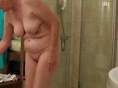Bath, Bath, Bathing, Bathroom, Granny, Mature