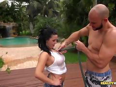 Petite, Beauty, Big Cock, Big Tits, Blowjob, Boobs