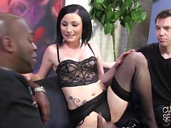 Scrumptious Veruca James Has Interracial Sex With Her Cuckold Watching