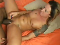 All, Bed, Blowjob, Cumshot, Interracial, Riding