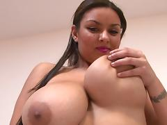 Bedroom, Bedroom, Big Tits, Bra, Latina, Pornstar