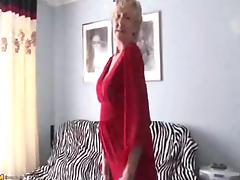 Old hawt 70y.o, granny can't live without to play