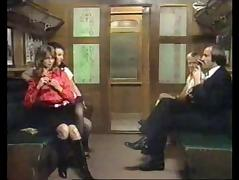 Naughty things on a train