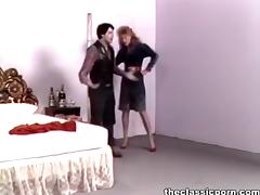 Retro wife in high heels wild fuck porn video