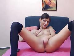 Russian babe acquires her Toy huge porn video
