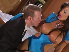 Sex in the governor's office with Lisa Ann