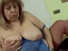 big beautiful woman Granny love fuck
