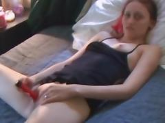 Homemade sex with cock-sucking amateur