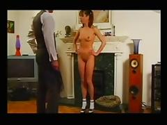 British, British, Punishment, Spanking, Vintage, Tits