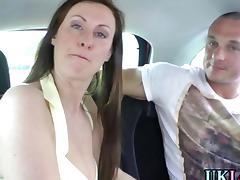 British slut in stockings fucks her inked lover