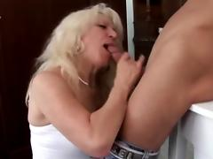 Mom and Boy, 18 19 Teens, Blonde, Fucking, Hardcore, Horny