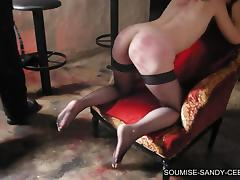 Here is a hot fetish video with spanking and some very sexy BDSM action going on