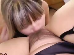 Mom and Boy, Beauty, Brunette, Fingering, HD, Lesbian