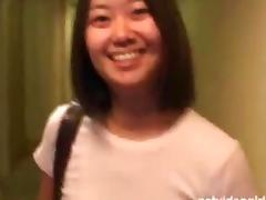 Petite, Amateur, Asian, College, Kissing, Lesbian