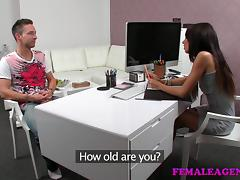 FemaleAgent: Tie my hands and fuck me