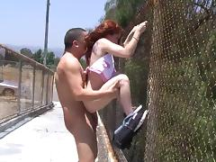 All, Beauty, Couple, Outdoor, Public, Redhead