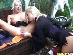 Blonde Molly Cavalli getting down all by herself porn video