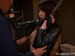 Shoko Akiyama is a hot milf in Asian bondage scene