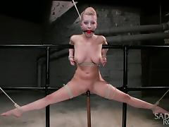 Tied Up, BDSM, Blonde, Slave, Vibrator, Tied Up
