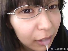 Japanese Teen, 18 19 Teens, Blowjob, Brunette, Cum, Cum in Mouth