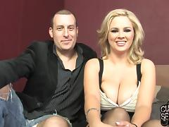 Gorgeous Katie Kox Has Interracial Sex With Her Husband Approval